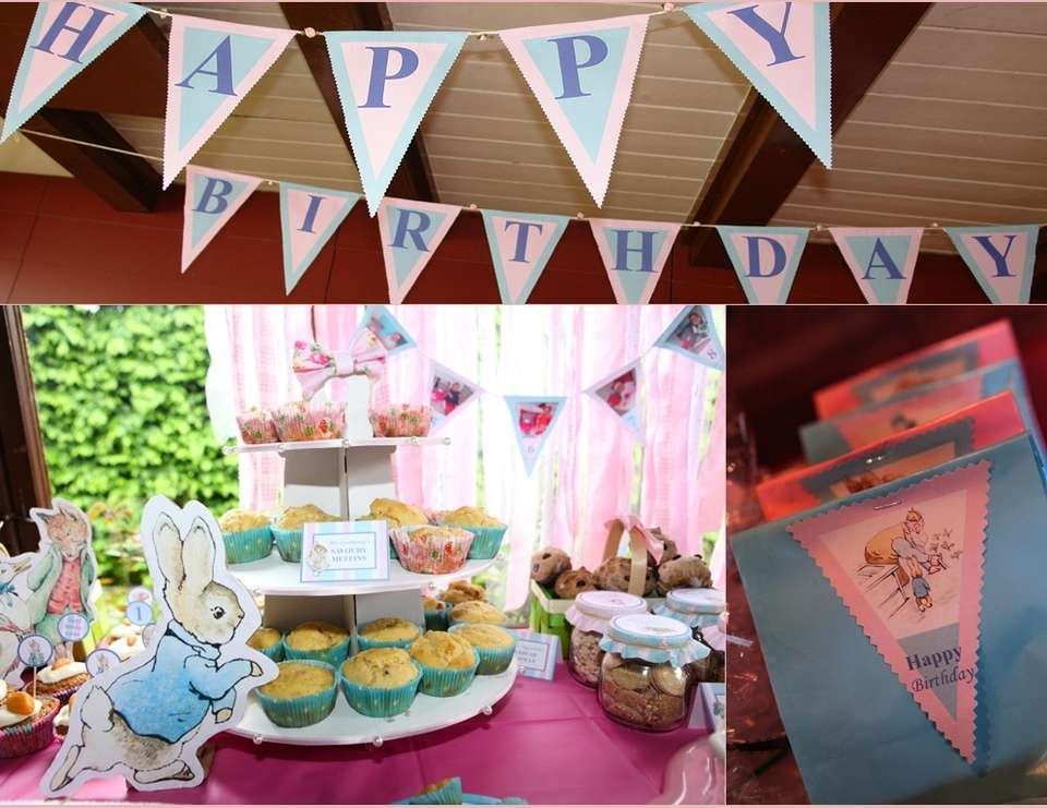 Scarlett-May's Beatrix Potter 1st Birthday Party - Beatrix Potter / Peter Rabbit / Jemima Puddle Duck / Mrs Tiggywinkle