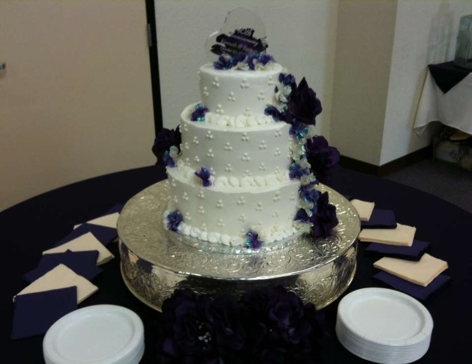 Pastors Appreciation and 40th Wedding Anniversary - Purple