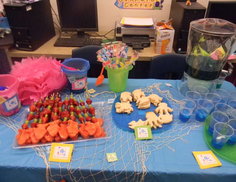 1st grade end of the year under the sea party - Under the Sea