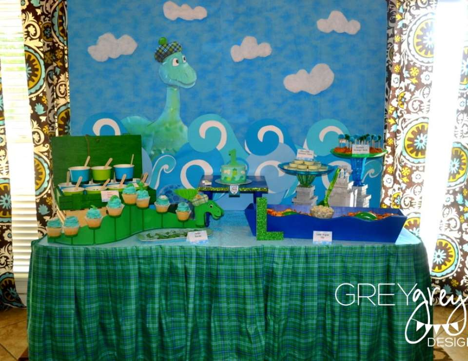 Lachlan's Loch Ness Monster Party - None