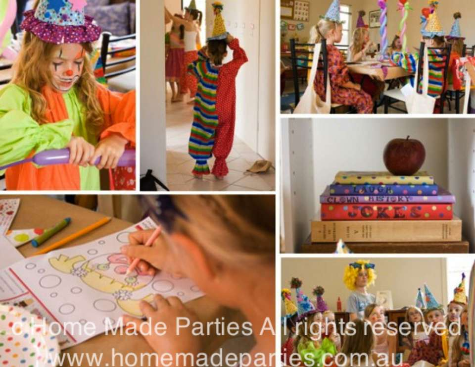 Clown School Birthday Party - Clown School