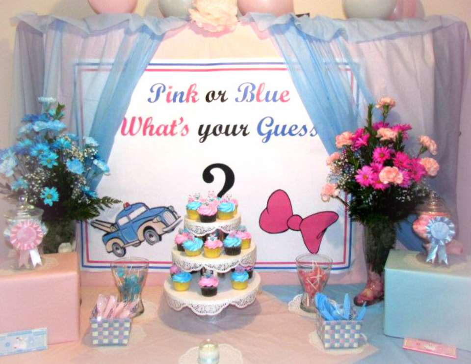 Pink or Blue! What's Your Guess?  - Pink and blue