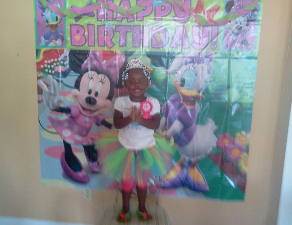 Caleyah's 3rd Minnie Mouse Bash - Minnie Mouse