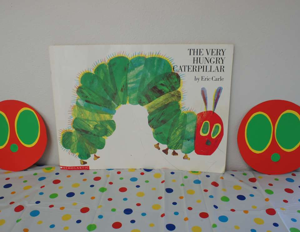 Cristian's 2nd birthday - The Very Hungry Caterpillar