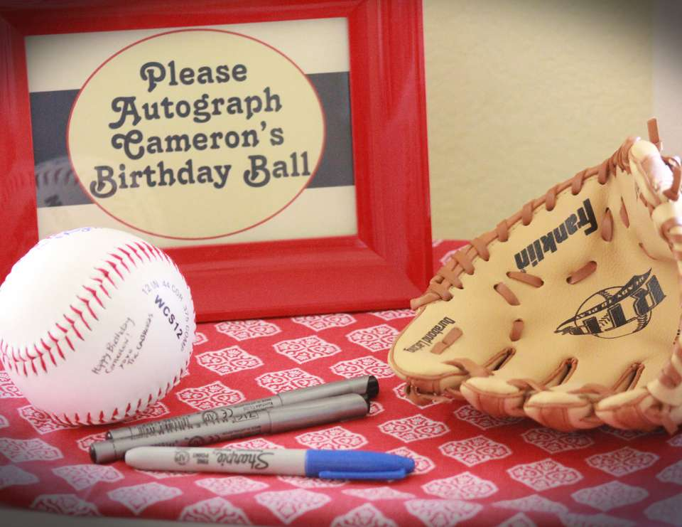 Vintage Baseball 1st Birthday Party - Vintage Baseball