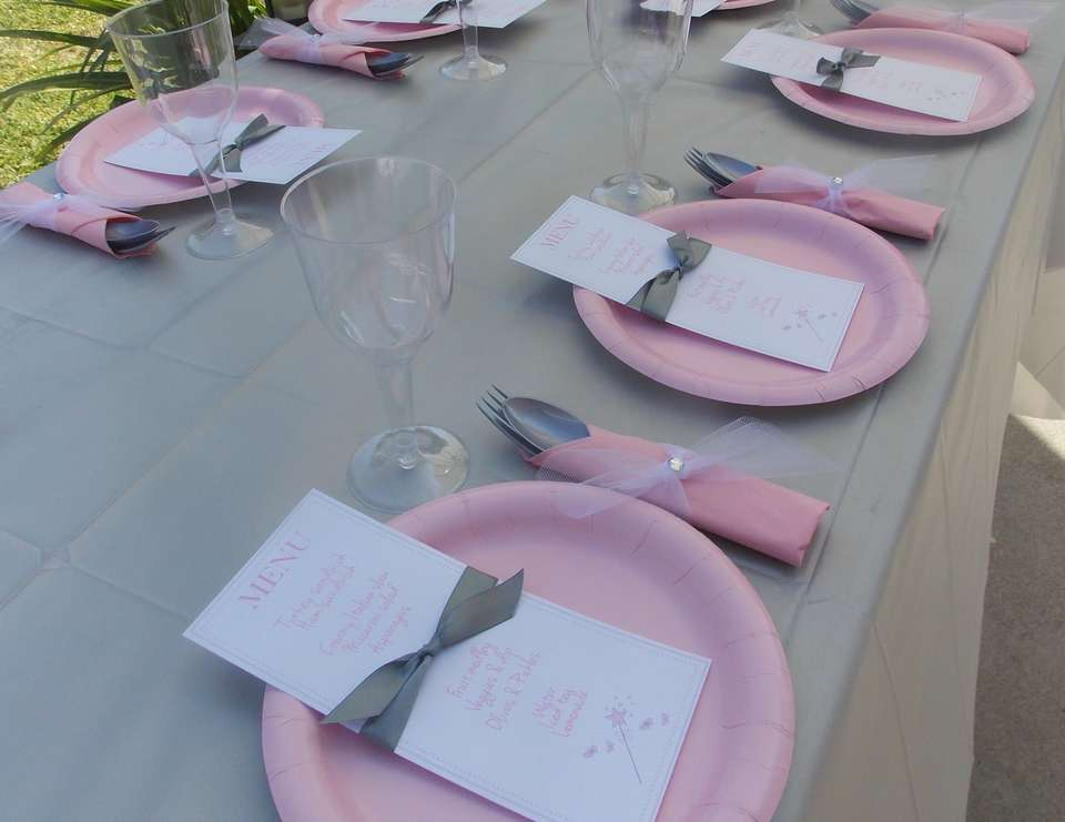 a fairy & pretty pink baby shower - None