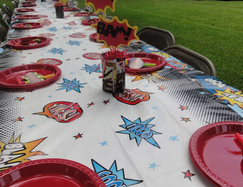 Mateo's 4th Superhero Party - None