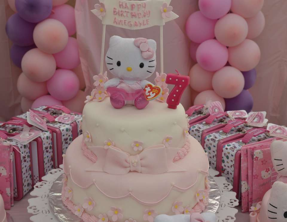 Aviegayle's 7th birthday - Hello Kitty
