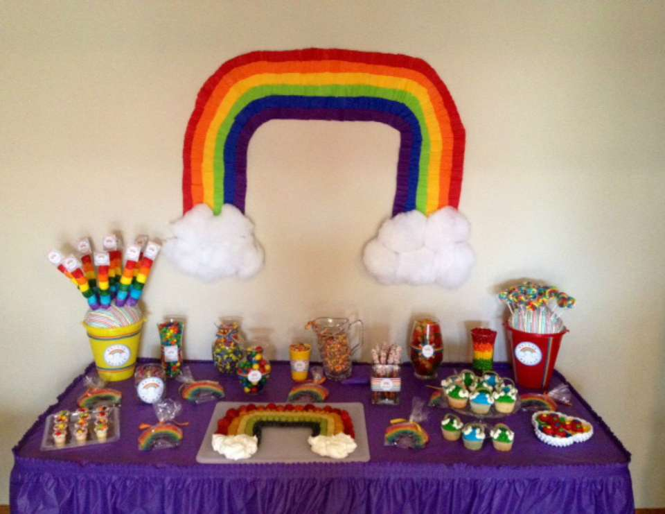 Lauren Ann's Rainbow Birthday Bash! - Rainbow