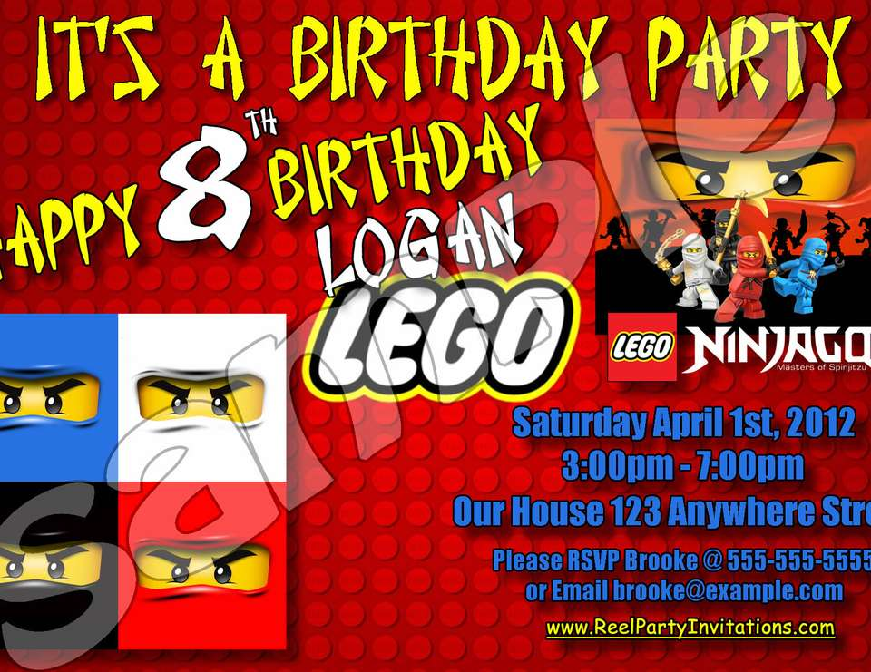 Lego Ninjago Party  - Lego Ninjago Party