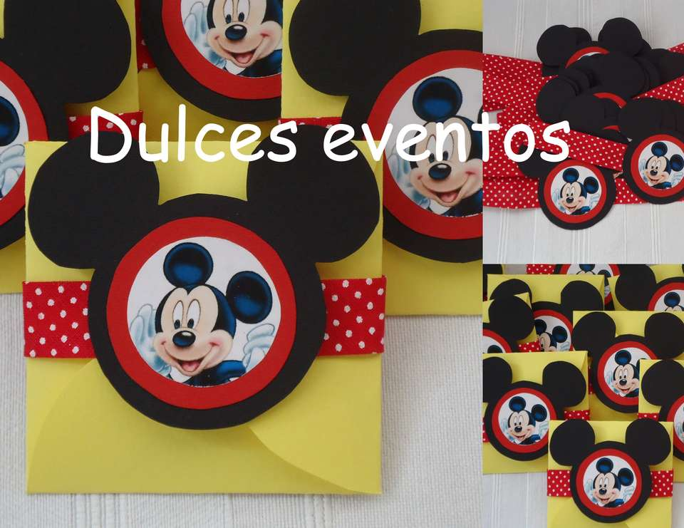 Cumple de Mickey Mouse - Mickey Mouse