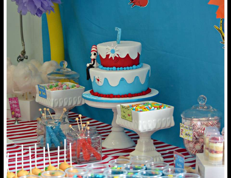 Sophie's Dr Seuss Party - Dr Seuss