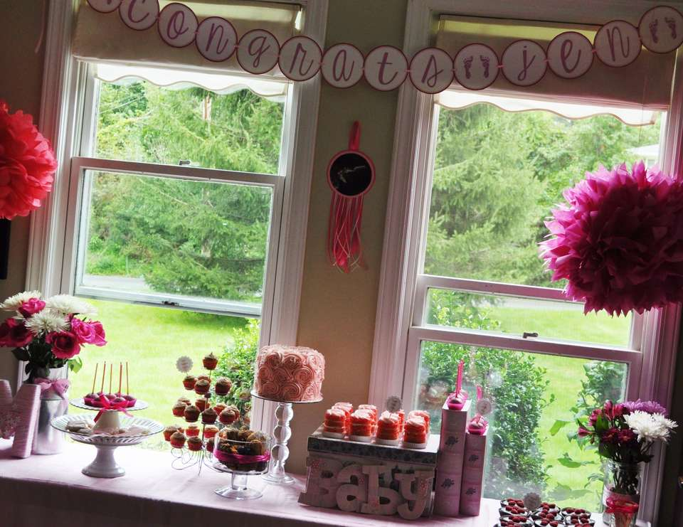 """Tickled Pink"" Baby Shower - All things Pink"