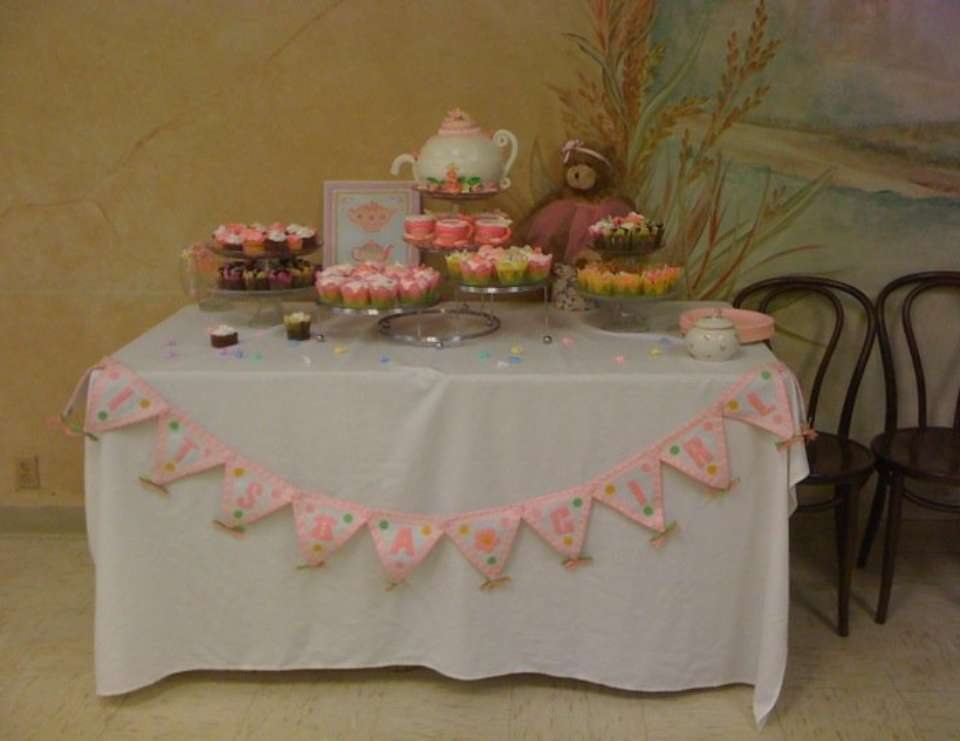 Vintage Tea Party Baby Shower Esthers