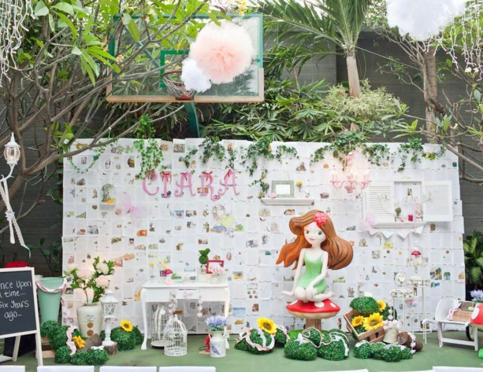Ciara's enchanted garden - 'Enchanted Garden Fairy Party'