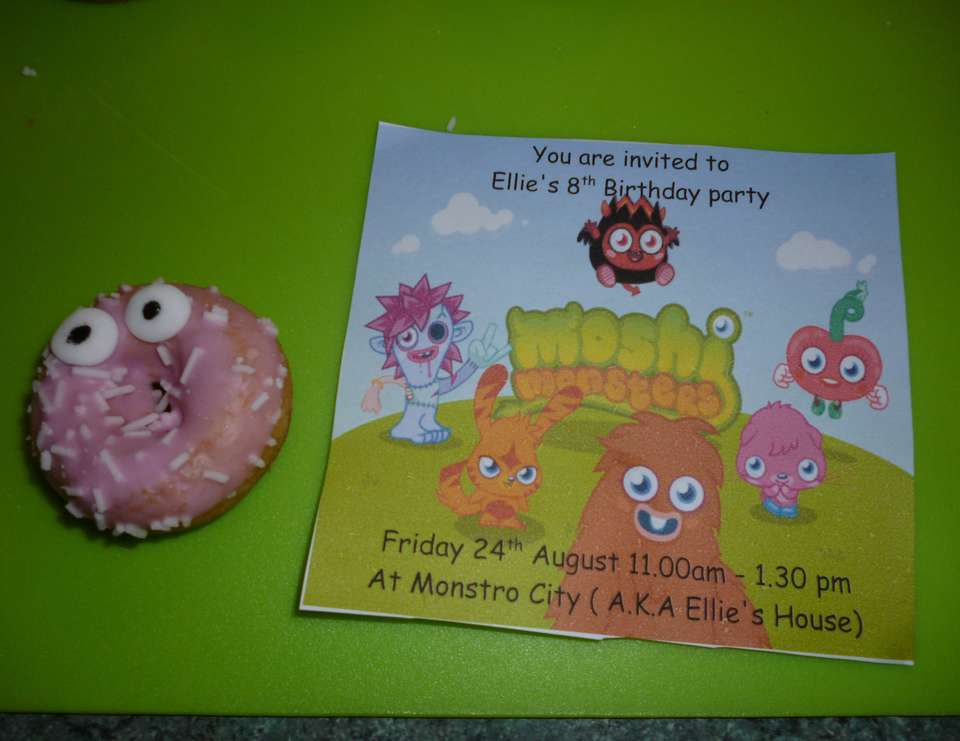 Ellies 8th Birthday - Moshi Monsters