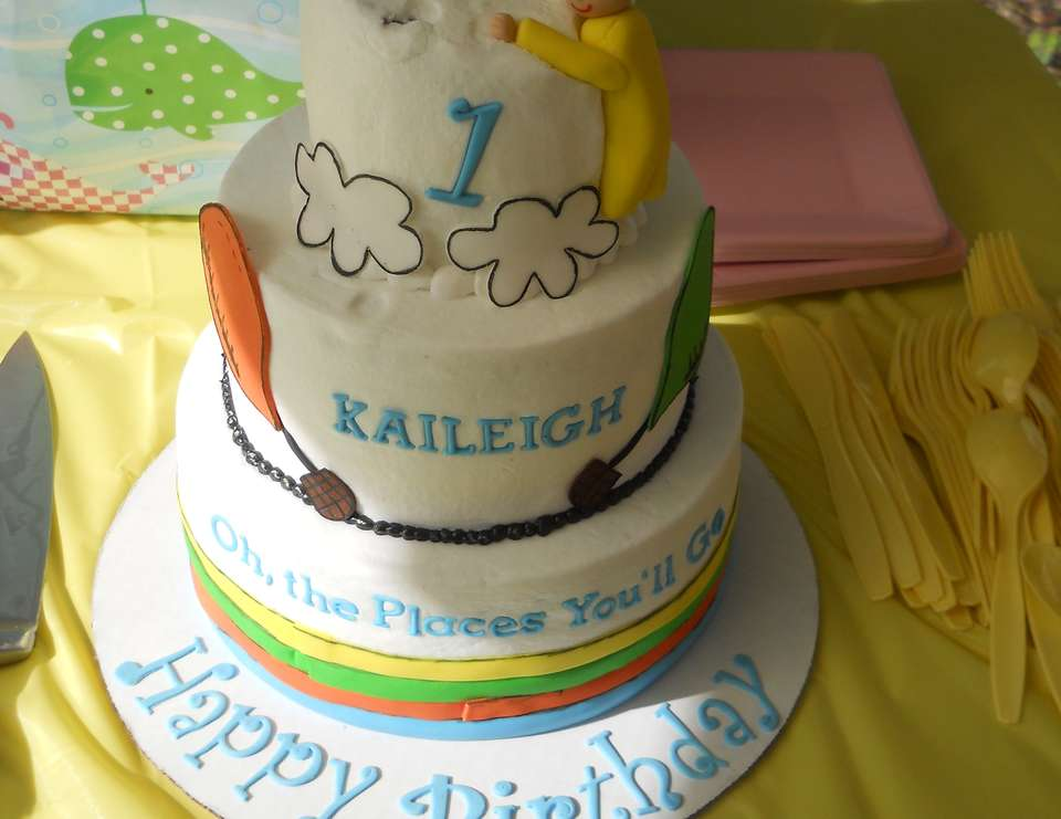 Kaileigh's 1st! - Oh The Places You'll Go
