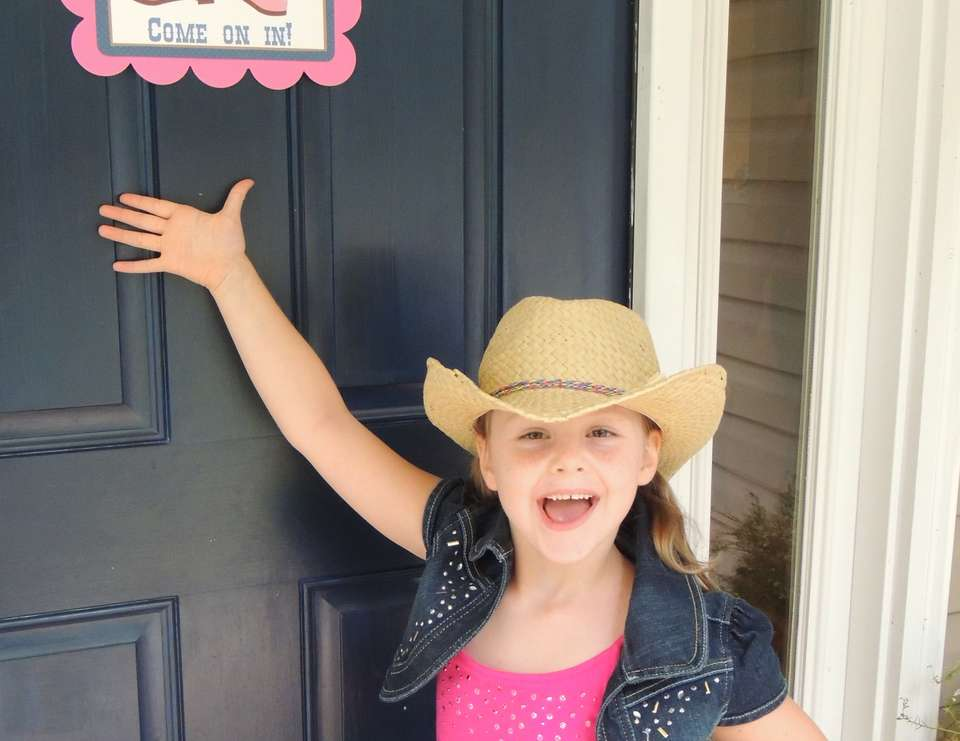 Katie's CowGirl Party - Western Cowgirl
