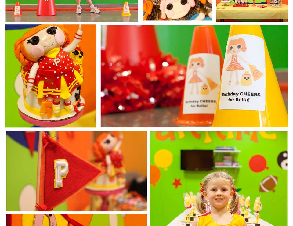 Lalaloopsy Peppy Pom Pom Cheerleading - Lalaloopsy Cheerleading Party