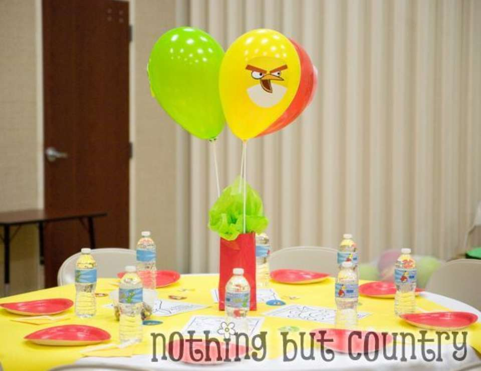 Angry Birds - Cub Scout Blue & Gold Banquet - Angry Birds