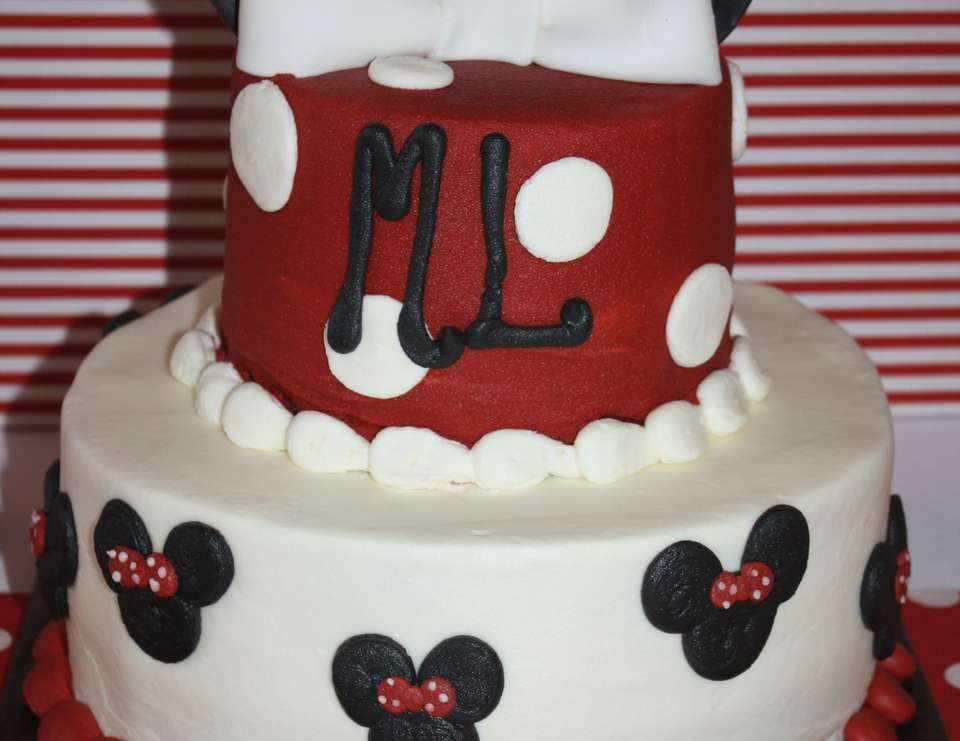 ML's Minnie Mouse 3rd Birthday Party - Minnie Mouse