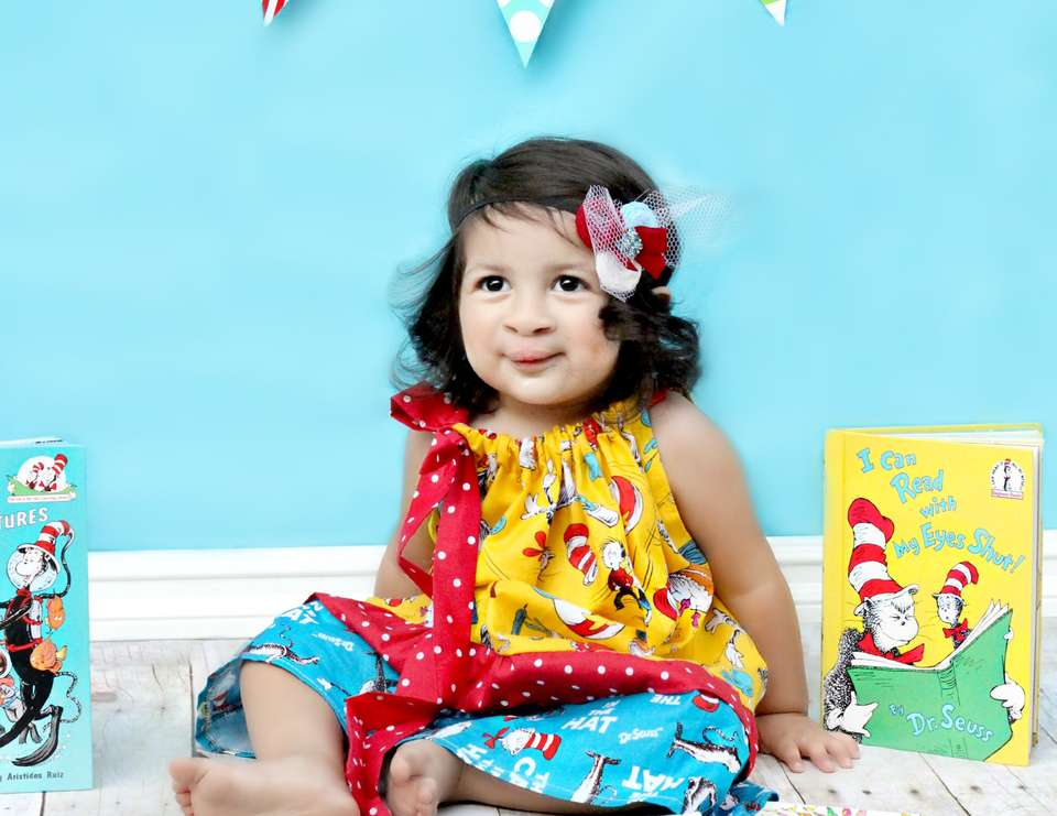 Annalise's 2nd Birthday - Children's Story Book Theme