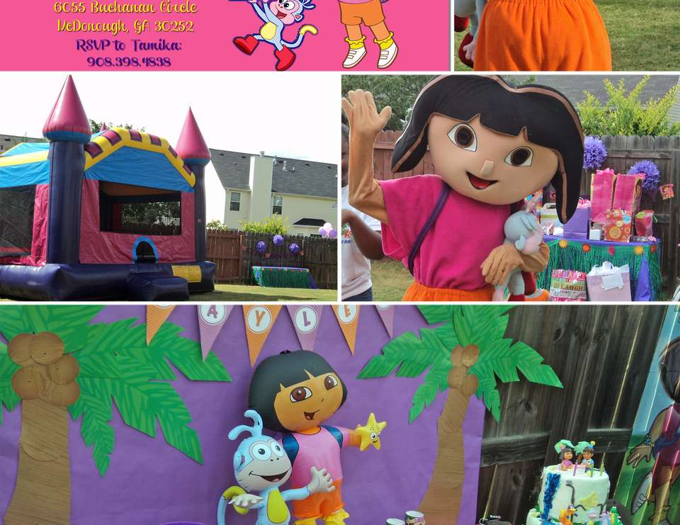 Kaylee's Dora the Explorer 3rd Birthday Party - Dora the Explorer