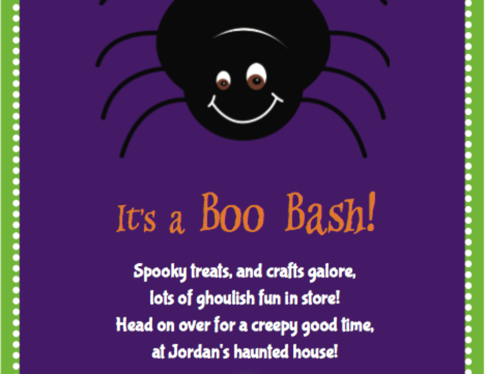 Halloween Boo Bash for toddlers! - Halloween party for kids