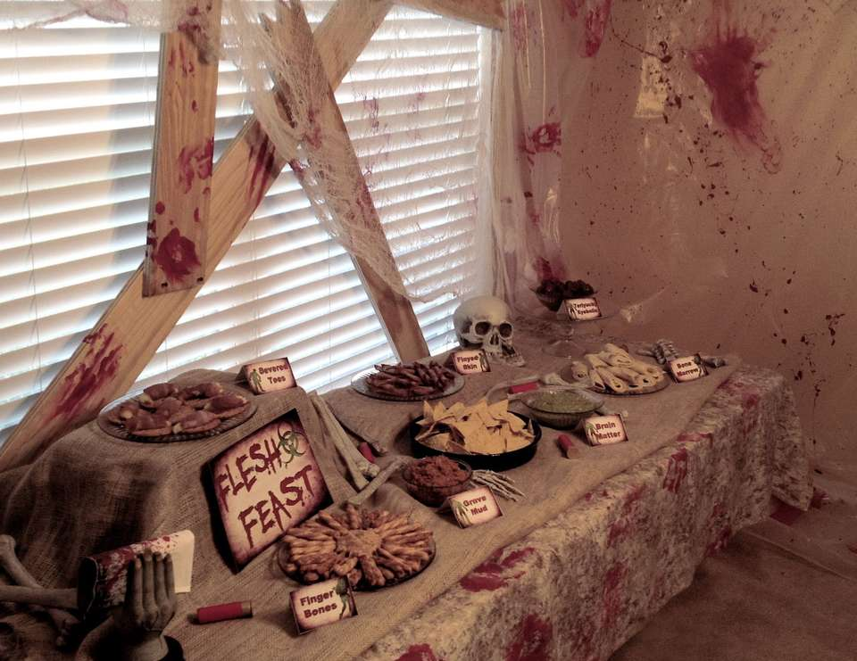 Zombie Apocalypse End of The World - Zombie Halloween Birthday