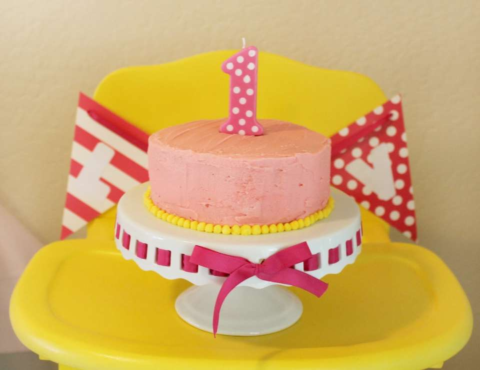 1st Birthday Party - Pink Lemonade