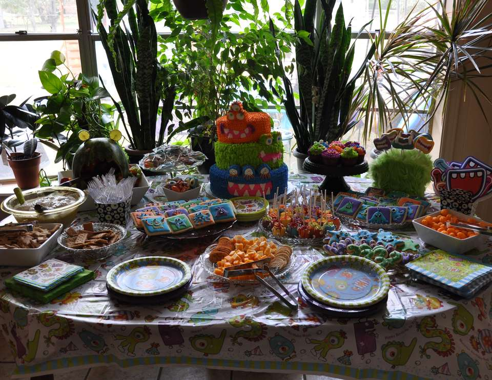 William's Monster Bash - Monster Birthday Party