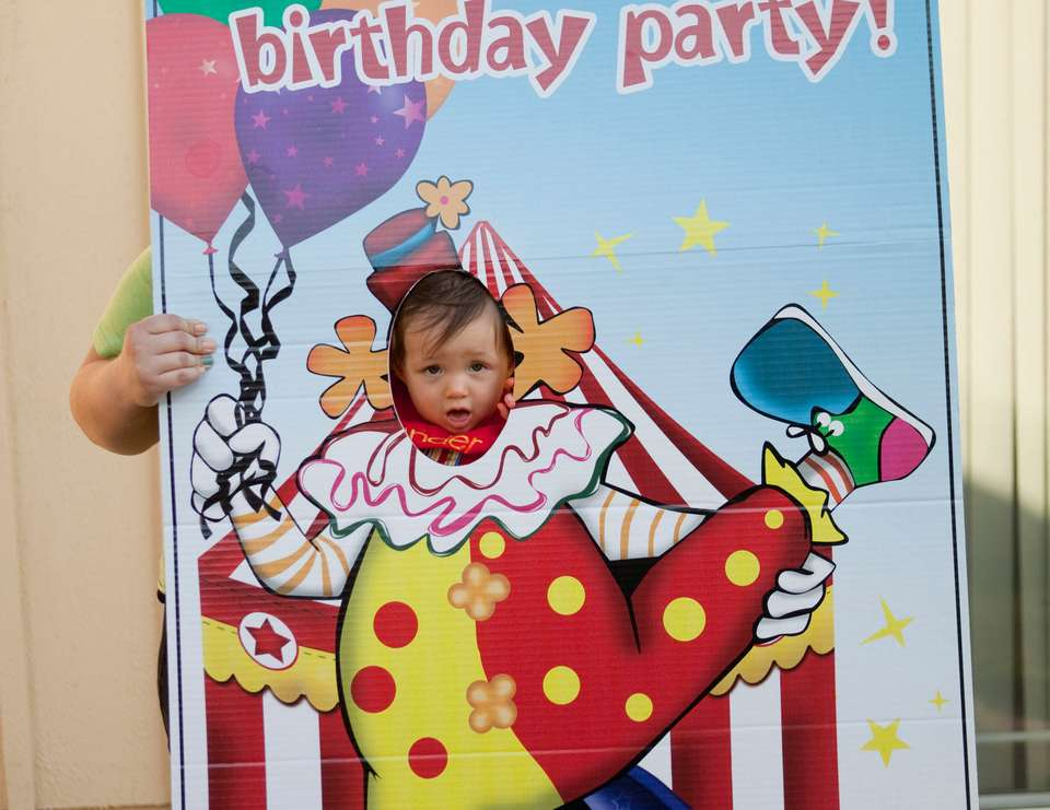 Zander's 1st Party - Circus/Carnival/Pumpkin Patch