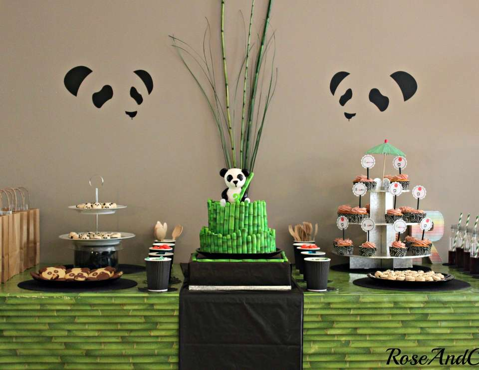 A panda & bamboo party - All things Panda!