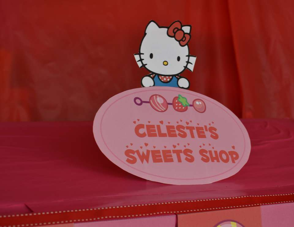 Celeste's  4th Birthday - Hello Kitty Sweet Shoppe