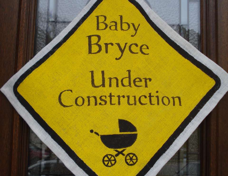 Baby  Bryce is Under Constuction - Construction party