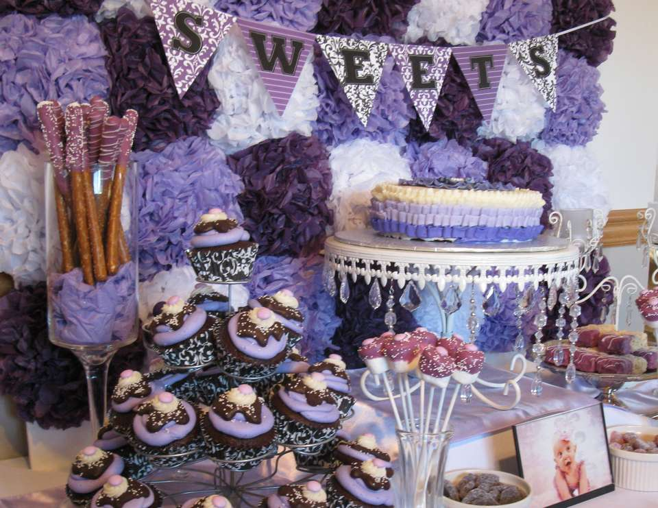 Lily's 1st Birthday - Pretty in Purple