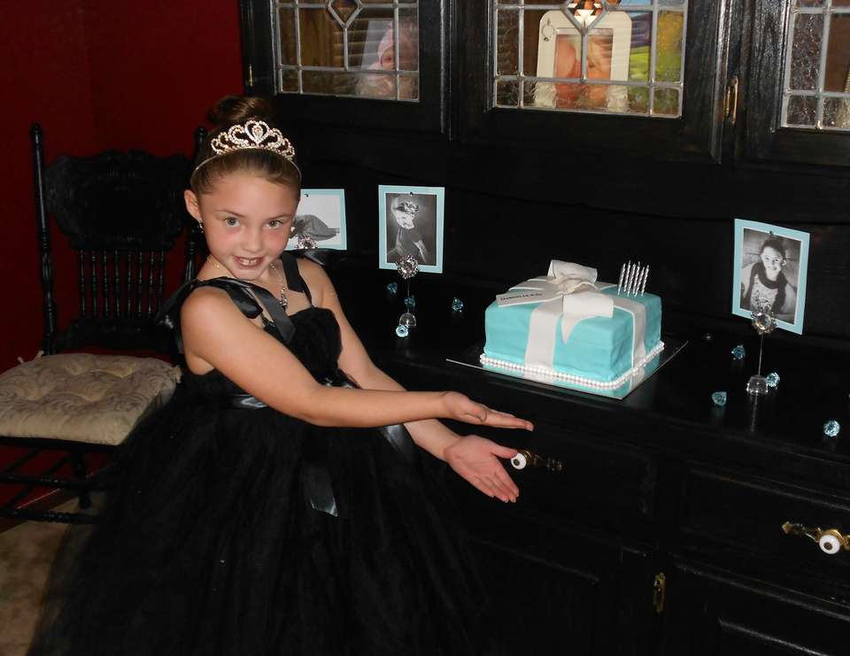 "Gabrielle's 8th Birthday Brunch - ""Breakfast at Tiffany's"""