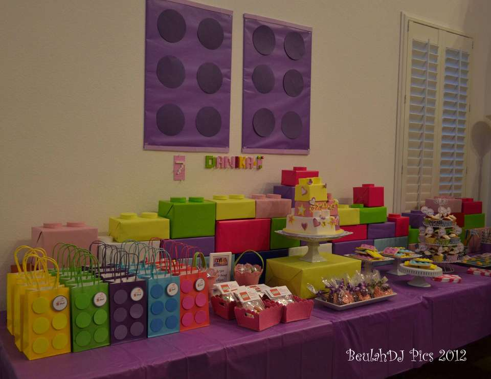 lego friends födelsedag Lego Friends Party Ideas for a Girl Birthday | Catch My Party lego friends födelsedag