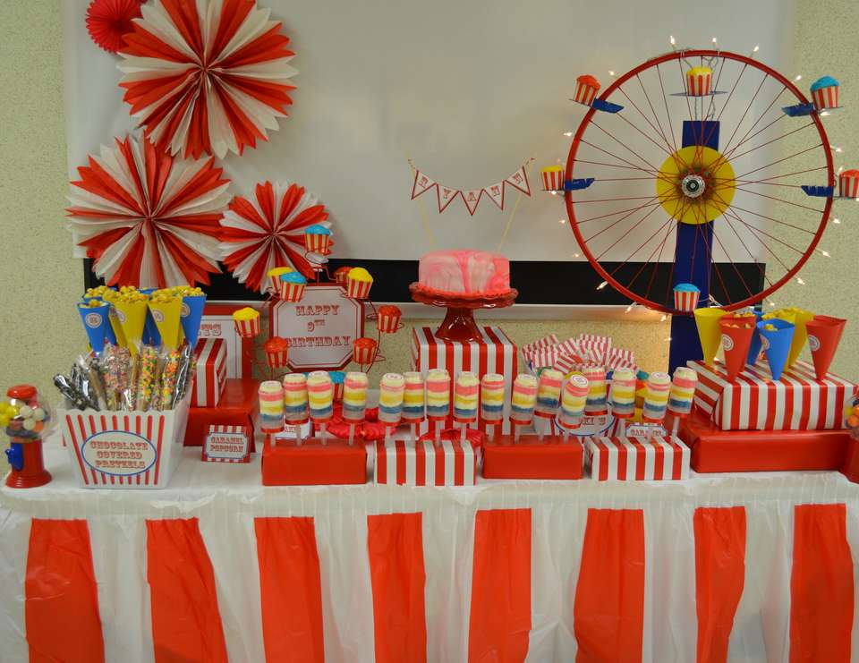 Ryann's 9th Birthday - carnival party