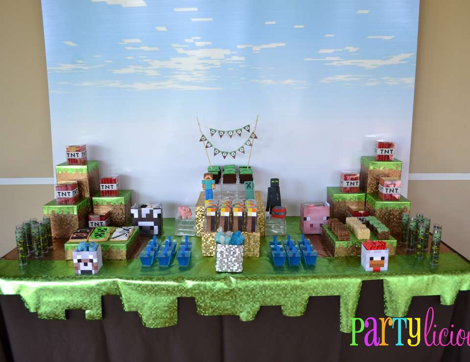 {Minecraft Birthday} - Minecraft Birthday Party