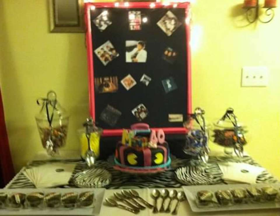 80s 40th Birthday Party - Hip Hop/r and b 80s party