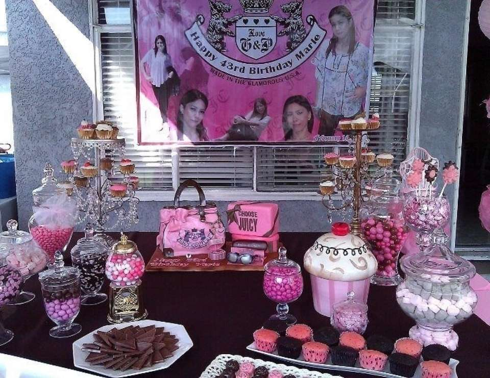 Crazy for juicy - JUICY COUTURE INSPIRED BIRTHDAY PARTY!