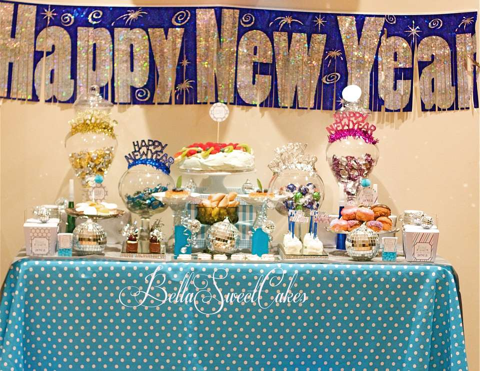 My New Year's Table - New Year