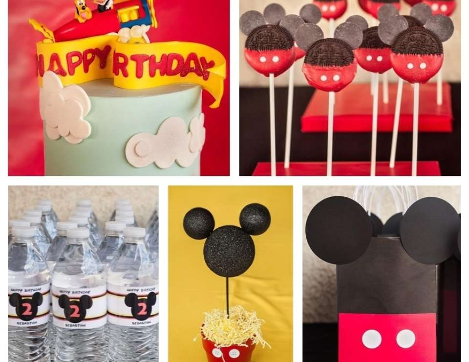 Mickey Mouse 2nd Birthday Party - Mickey Mouse