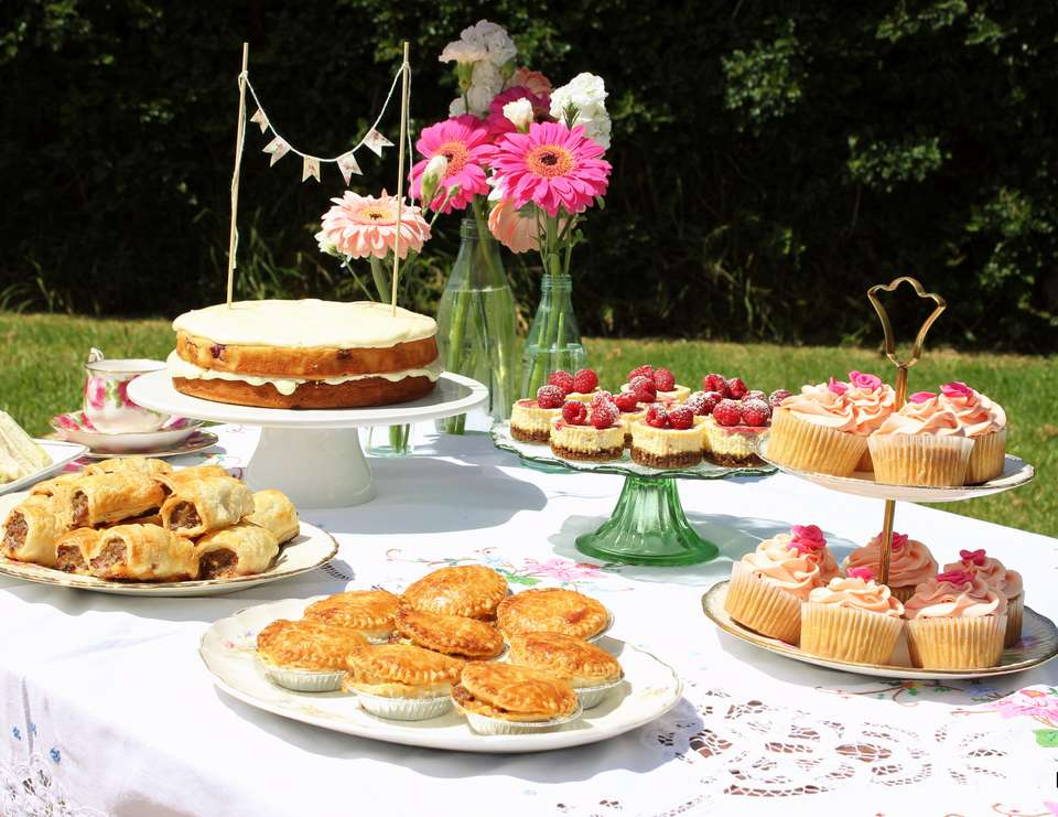 Pretty Summer Picnic Tea Party Picnic High Tea Party Catch My