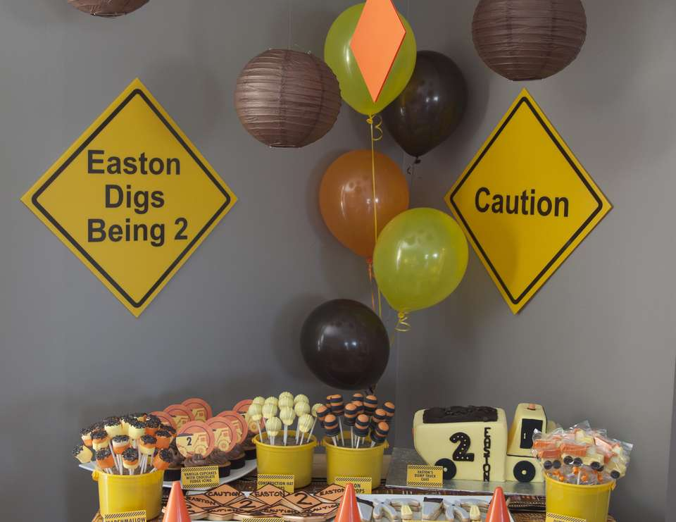 Easton James Is Turning 2, Come & Join His Construction Crew! - Construction 2nd Birthday Party
