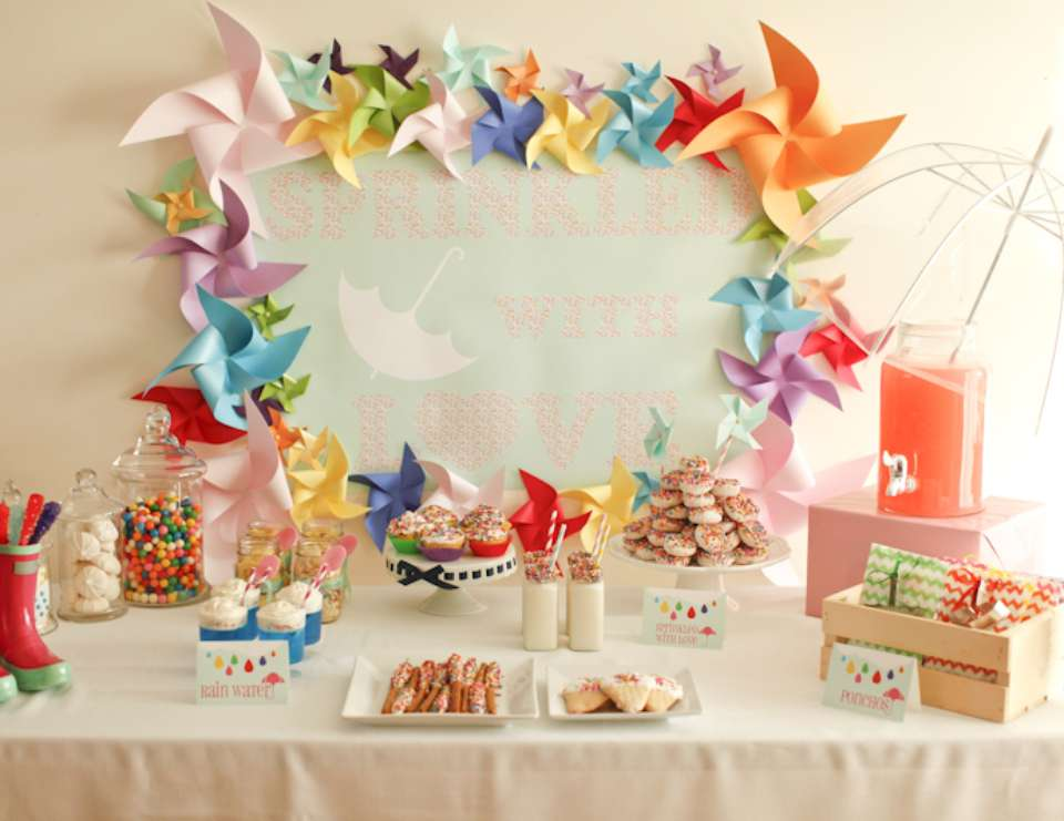 Sprinkled With Love By Party Pants · Baby Shower