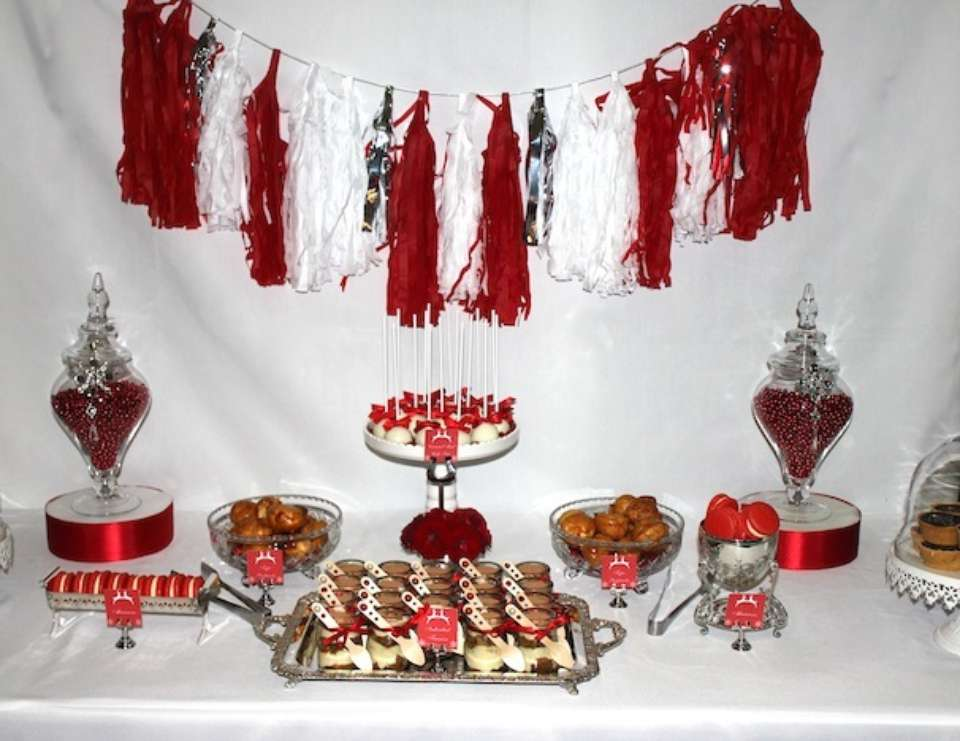 Dental Surgery Staff Christmas Party - Red, White and Silver Christmas