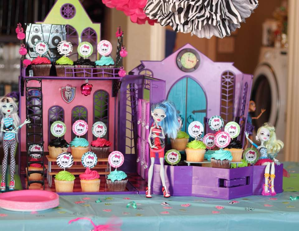 Sierra's 5th Birthday - Monster High