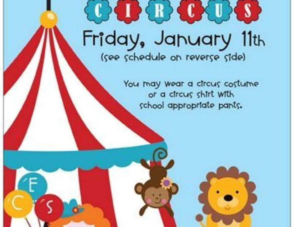 CES Students Clown Around - Circus/Carnival